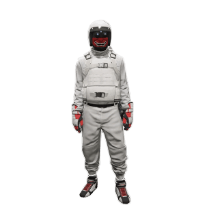 TryHard WHITE JOGGER